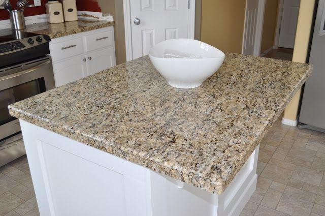Starter Home To Dream Home Diy Granite Mini Slabs Undermount Sink Tile Countertops Kitchen Granite Tile Countertops Unique Kitchen Backsplash