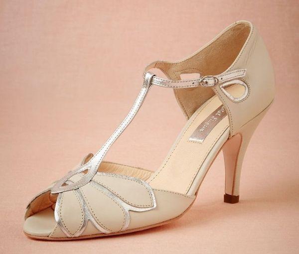 Art Deco T Strap Shoes