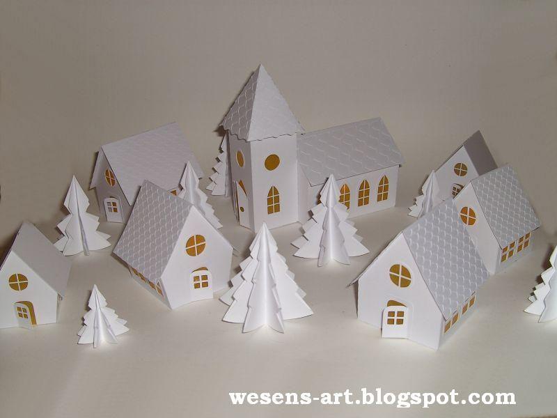 wesens art papier kirche paper church weihnachten. Black Bedroom Furniture Sets. Home Design Ideas