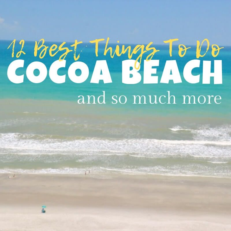 12 Things And More You Must Do When Visiting Cocoa Beach Florida Seas Your Day Cocoa Beach Florida Cocoa Beach Coco Beach Florida