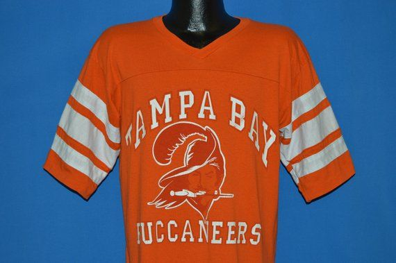 official photos 71670 6a36a 80s Tampa Bay Buccaneers Creamsicle Jersey t-shirt Large ...