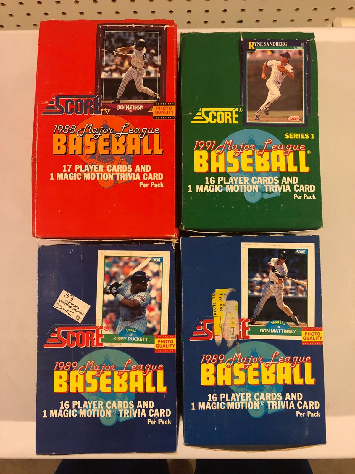 1991 score football cards price guide