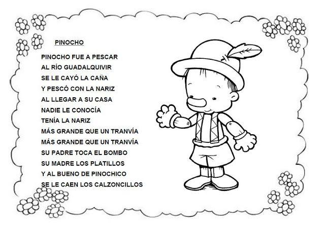 162542cancion 1 Jpg Letras De Canciones Infantiles Canciones Infantiles Poemas Infantiles