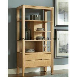 jual lemari rak minimalis jati simple | rak, desain