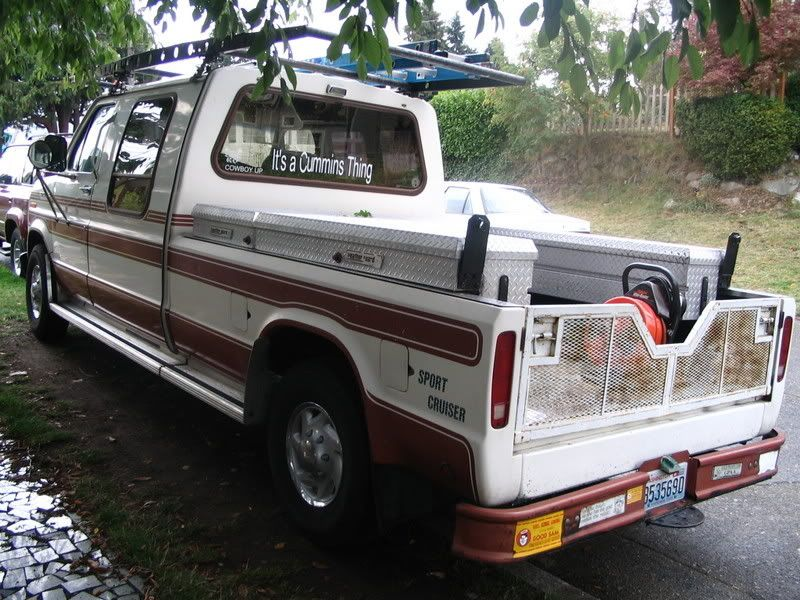 Cummins Powered Econoline Conversion Ford Truck Fanatics With