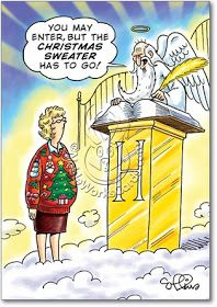 Ugly Christmas Sweater Cartoon.Pin On Ugly Christmas Sweater Party