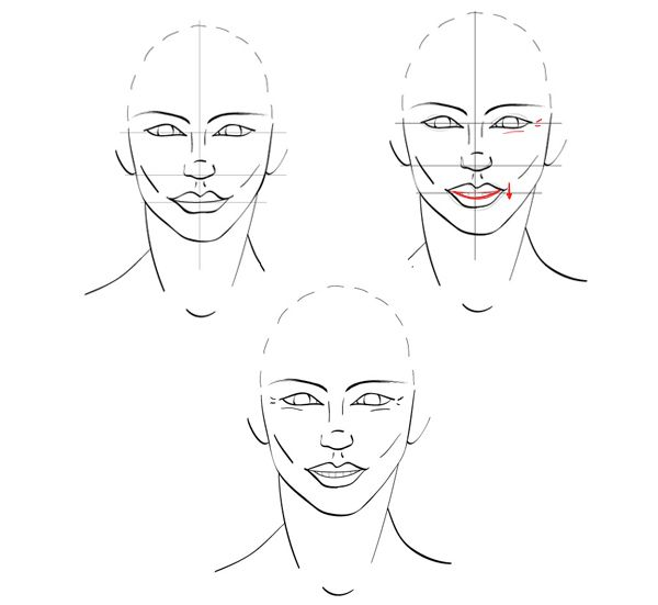 Line Drawing Baby Face : Quick tip how to draw facial expressions show emotion