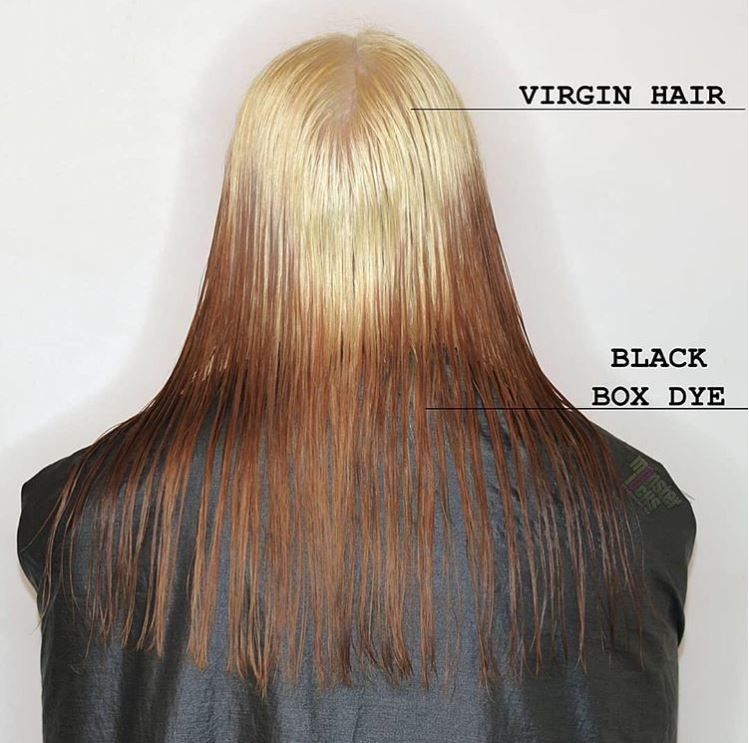 Let S Talk Black Box Dye One Of The Most Common Color Corrections Is Removing Black Box Dye Do Not Color Correction Hair Box Dye Hair Dye Removal