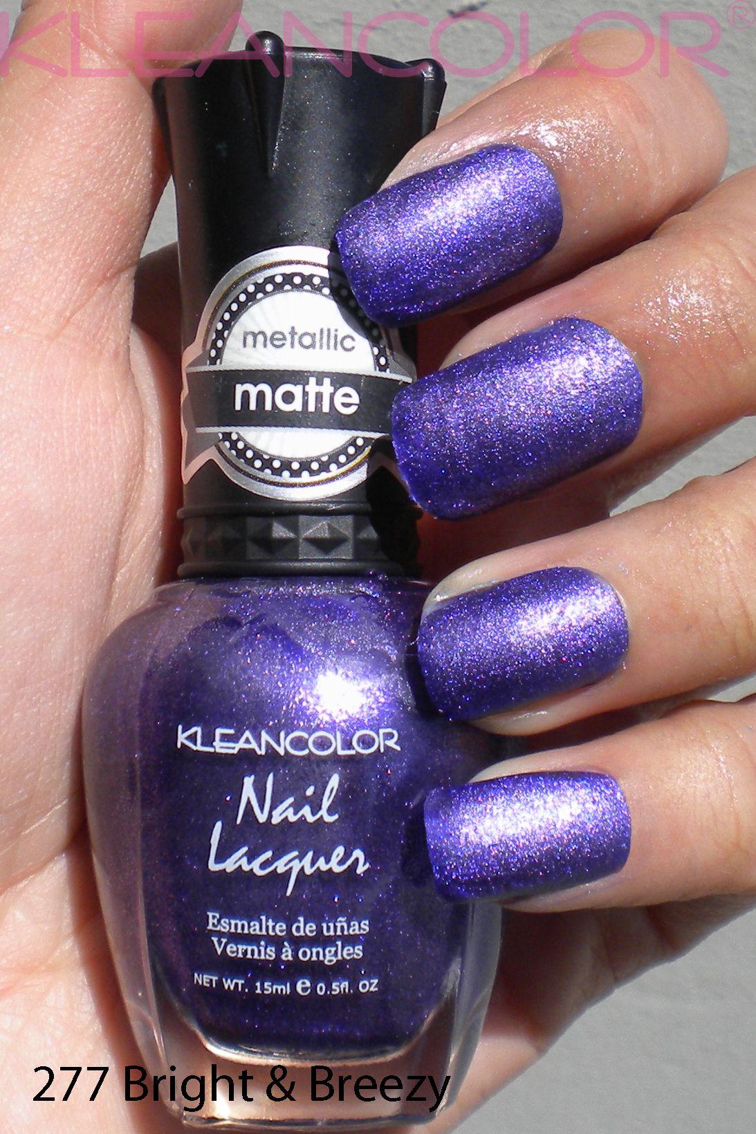 277 Bright & Breezy #mattepolish #matte #polish | Matte Nail Lacquer ...