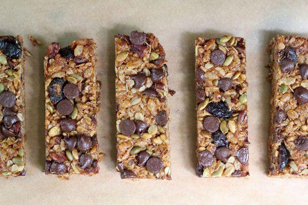 granola bar recept nyttigt