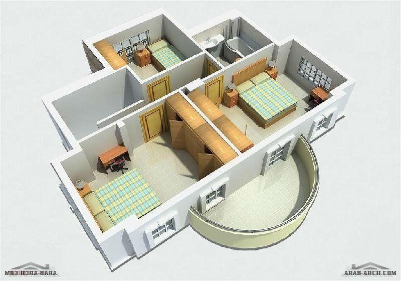 مخطط لفيلا صغيره جدا ثلاثة ادوار تنفع شاليه او استراحة Home How To Plan Flatware Tray