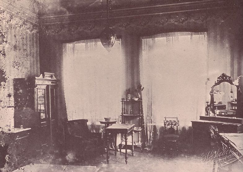 The Ipatiev House Photograph Taken After The White Army