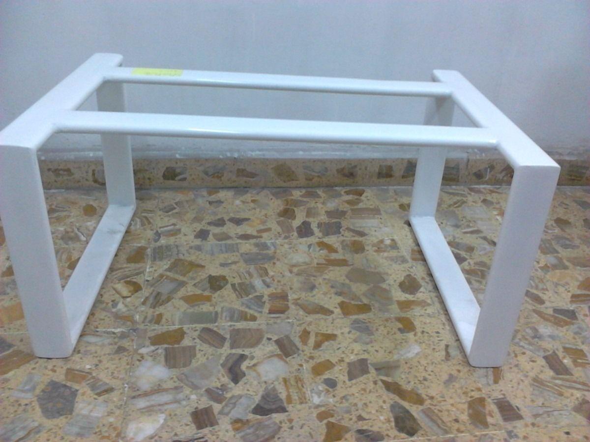 Mesa escritorio de pata cuadrada met lica lbf 2 Niveladores para muebles