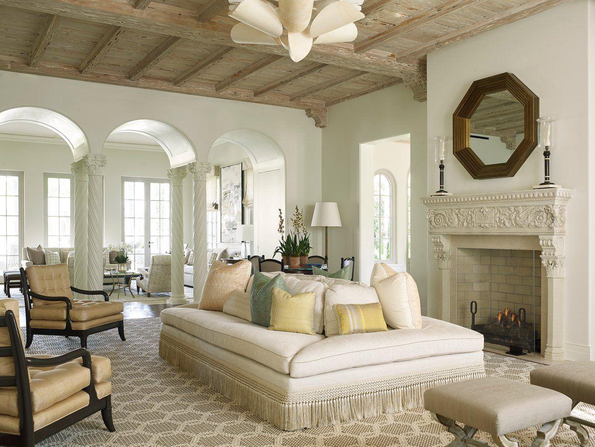 Living Room in Palm Beach, FL by David Kleinberg Design ...