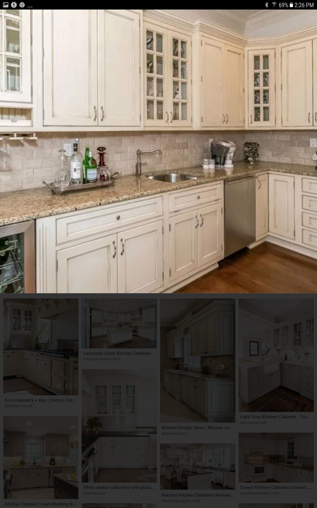 Pin By Peggy Porter On Cabinets Home Decor Kitchen Kitchen Cabinets