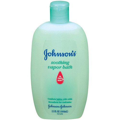 Johnson S Soothing Vapor Bath For Sick Baby I Need To