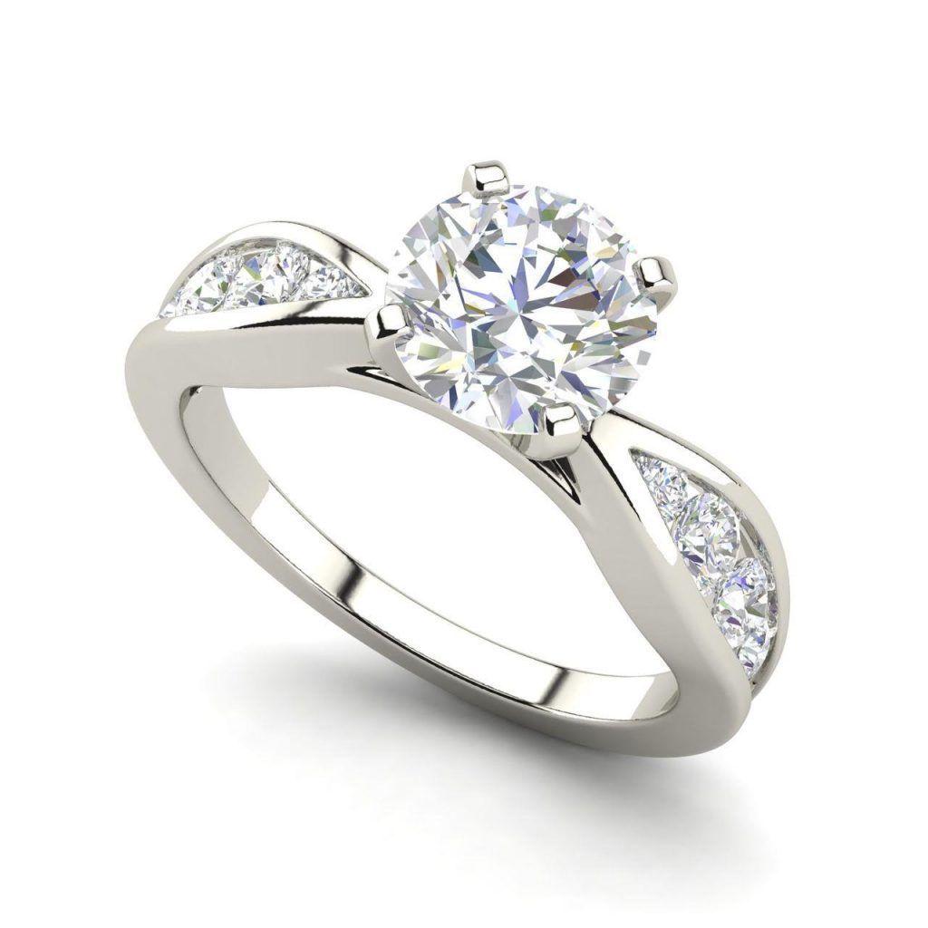 Pin On Round Cut Diamond Ring