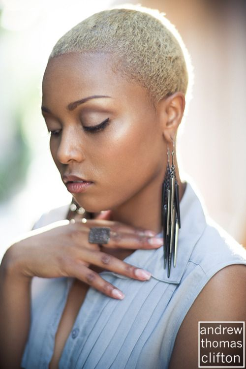 Natural Short Hairstyle with color   Short N Natural   Pinterest ...