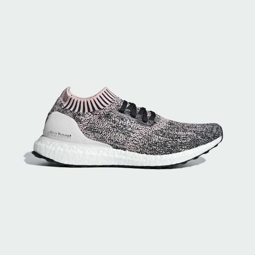 NEW WOMEN'S RUNNING ULTRABOOST UNCAGED SHOES TRUE PINK CLEAR