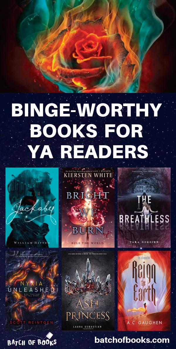 11 Binge-Worthy Books for YA Readers in 2018 - Batch of Books