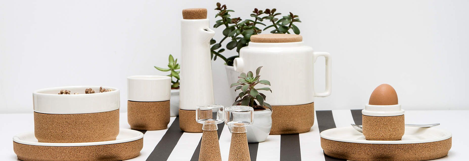 Amorim Soul Mate Pearl Collection Cork Ceramic