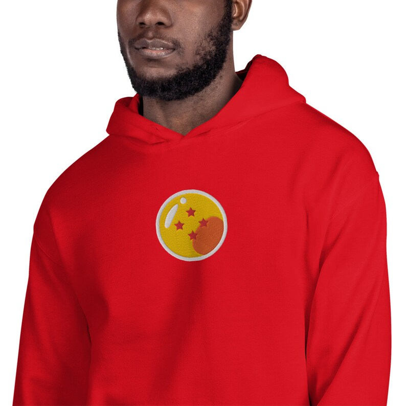 Embroidered Dragon Ball Z Hoodie Dbz Embroidery Unisex Etsy Dragon Ball Dragon Ball Z Shop Sweatshirts