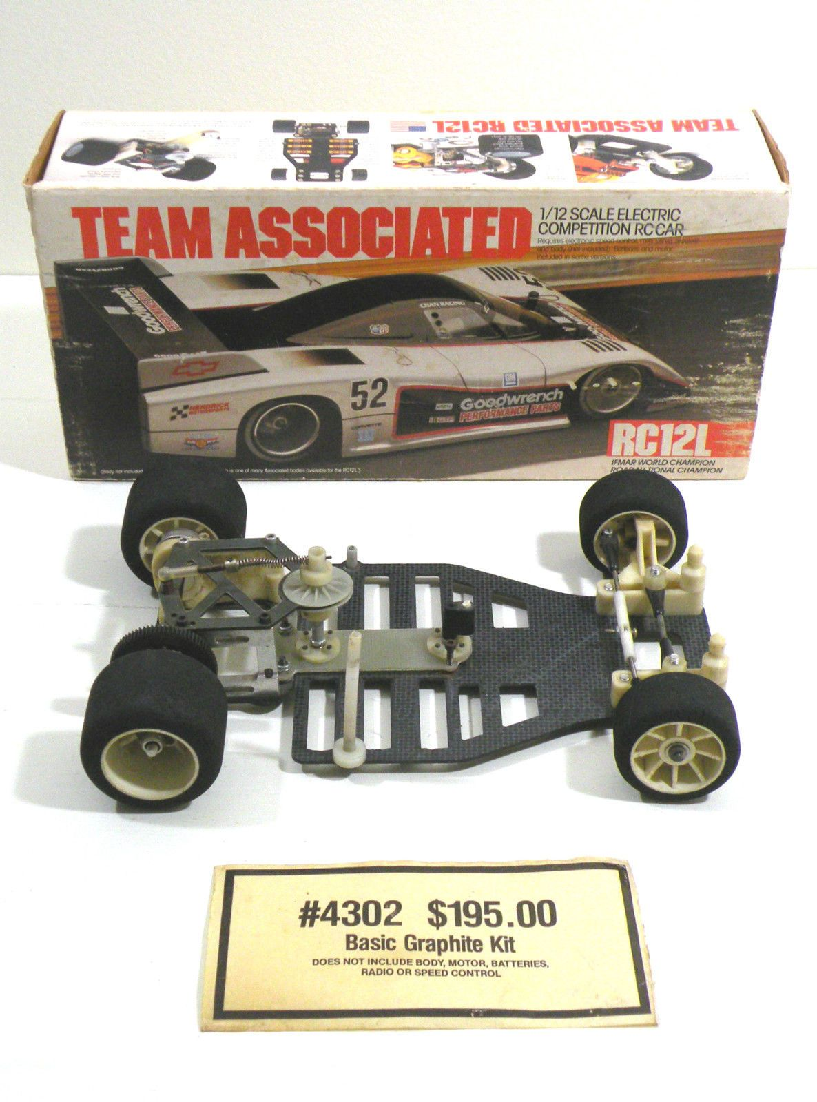 Vintage Team Associated RC12L 1 12 Scale RC Car eBay