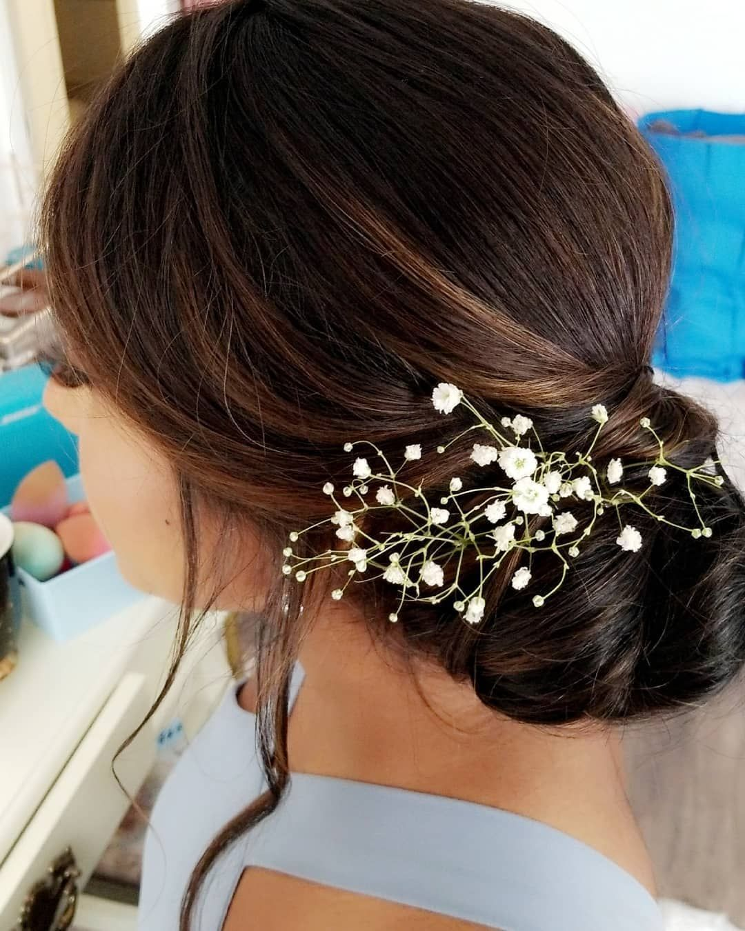 Bridesmaid #s #hairstyle #- #low #side #bun...so #my #client #was #in #love...client #also #happens #to #be #my #seestah #__darrin #bridesmaidshair #babysbreath #lowsidebun #hairstyles #pinterestworthy #pinterest #Hairstyles #lowsidebuns Bridesmaid #s #hairstyle #- #low #side #bun...so #my #client #was #in #love...client #also #happens #to #be #my #seestah #__darrin #bridesmaidshair #babysbreath #lowsidebun #hairstyles #pinterestworthy #pinterest #Hairstyles #lowsidebuns