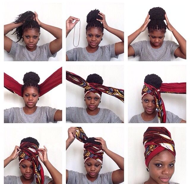 this is a good way to sleep at night with your braids ...