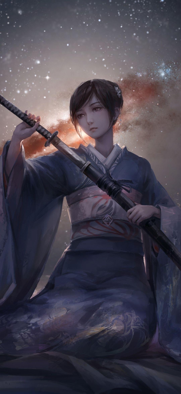 1080x2340 Warrior Anime Women 1080x2340 Resolution Wallpaper Hd Anime Wallpaper Iphone Samurai Wallpaper Hd Anime Wallpapers Anime wallpaper hd for xiaomi