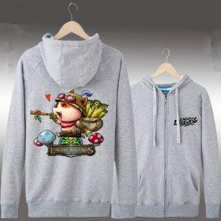 League of Legends engraçado Teemo impresso hoodies para meninos