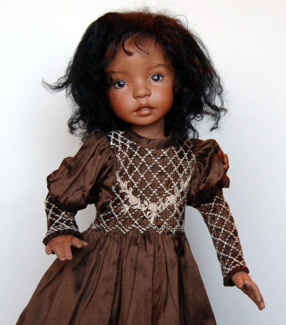 Dianna Effner Doll 12 inch all porcelain. $400.00, via Etsy.