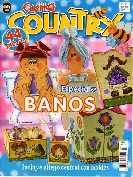 Revista country especial de ba os revistas country - Pintura especial para banos ...