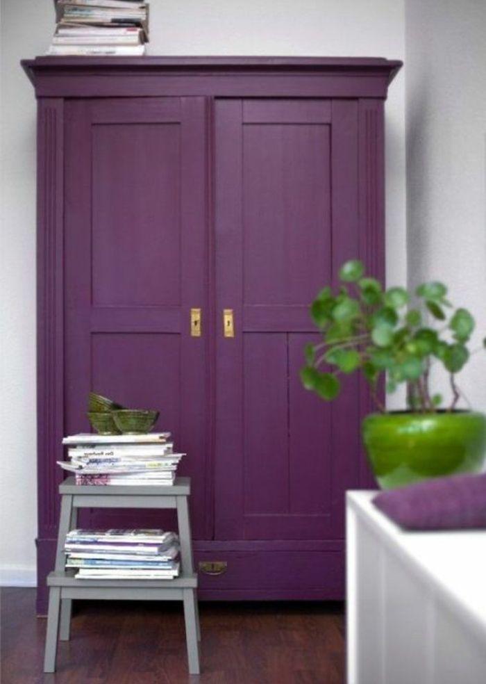 ▷1001+ idées pour relooker une armoire ancienne Pinterest Armoires - meuble en bois repeint