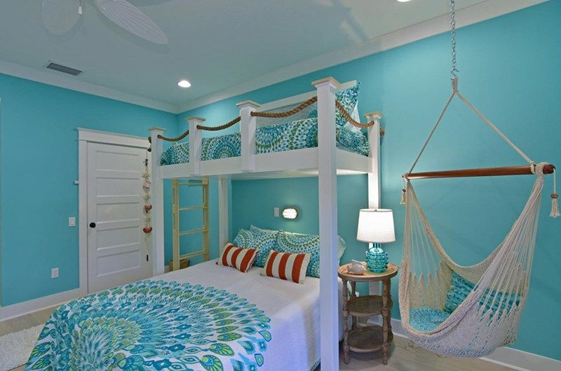 Beach-Themed Bedroom Ideas Your Teenager Will Love in 2020 ...