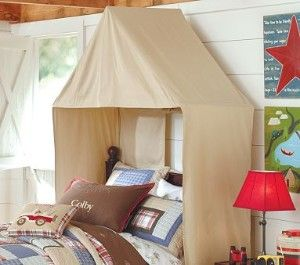 Tent Over Bed Safari Room Canopy Tent Themed Kids Room