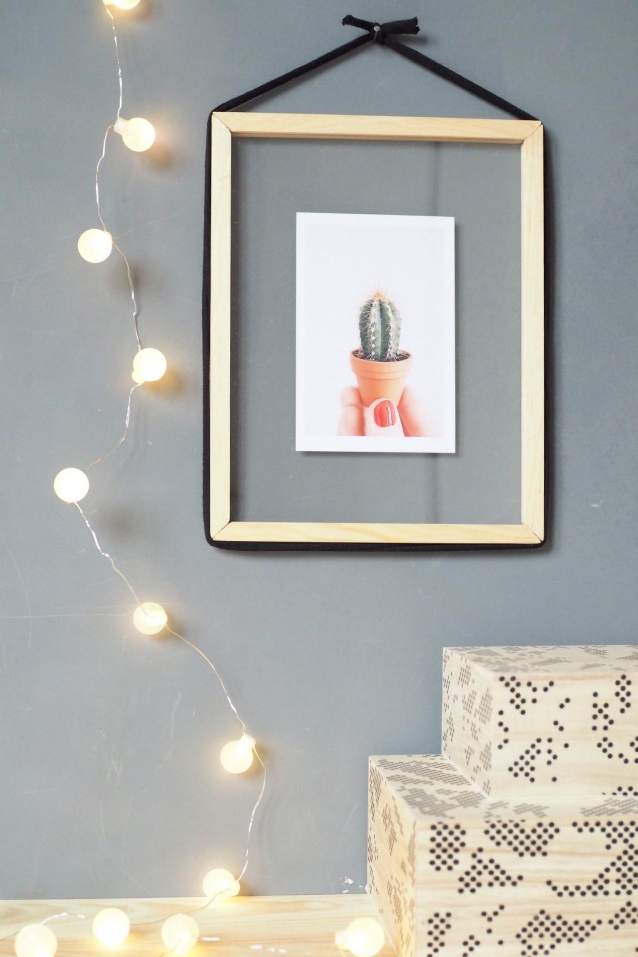 diy-design bilderrahmen zum befüllen | blog △ living | pinterest