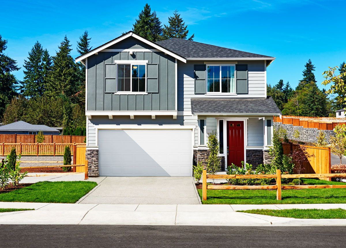 Two Story Jefferson Model Home Des Moines Washington Richmond American Homes Richmond American Homes New Homes Home Builders
