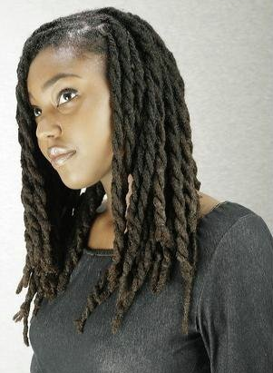 Dreadlocks Twisted In 2019 Natural Hair Styles For Black
