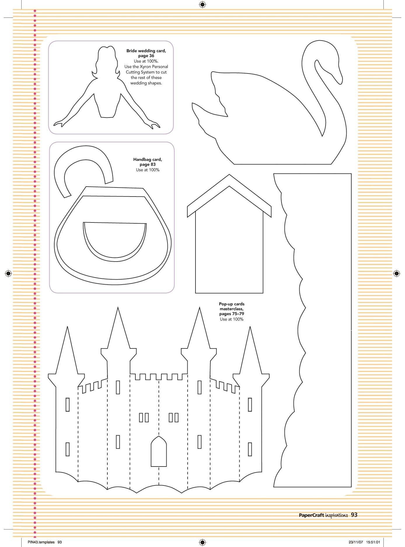 craft templates | FREE templates from issue 43! | Papercraft ...
