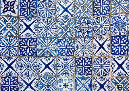 Moroccan Vintage Tile Background Stock Image 25563191