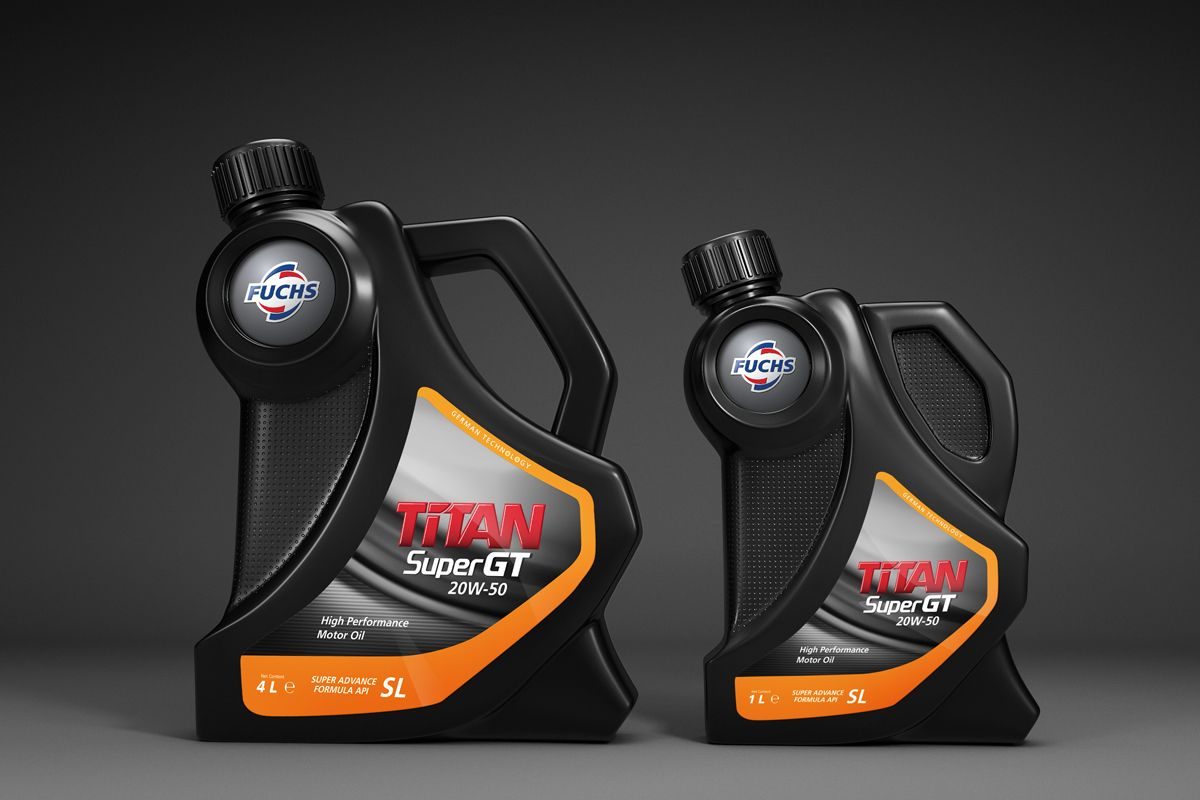 FUCHS TITAN PACKAGING | Oil packaging | Packaging design, Packaging