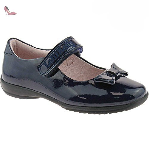 Lelli Kelly LK8000 (DW01) Purple Patent Rachel School Dolly Shoes F Width-25 (UK 7)