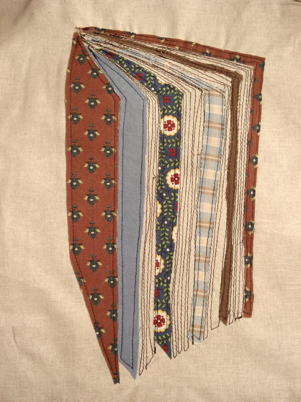 Patchwork book art pinterest book quilt patchwork for Patchwork quilt book