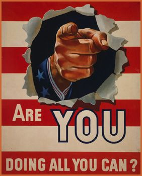 Home Front Are You Doing All You Can Uncle Sam Pointing His