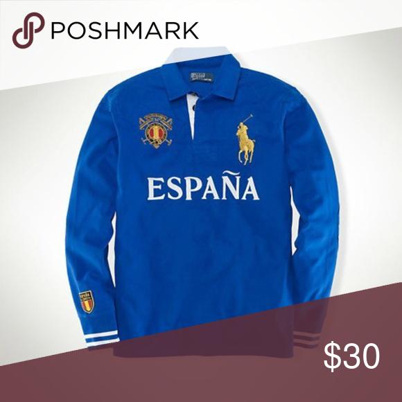Lauren España Sleeve Long Spain Polo Ralph 5LjA34R