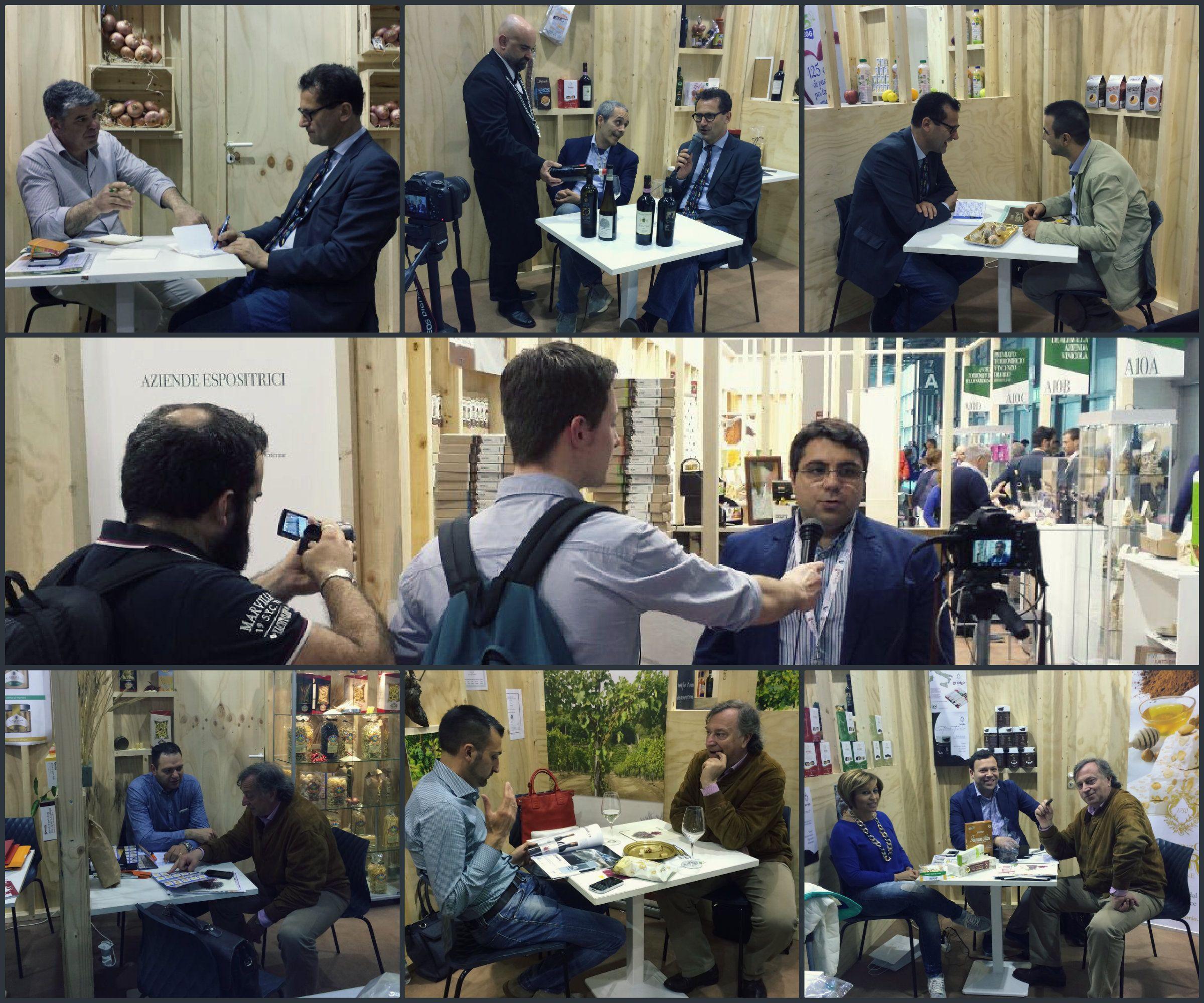 #TuttoFood #Day3 #Irpinia #B2B #Aziende #Giornalisti #Interviste #CCIAA_AV #Milano