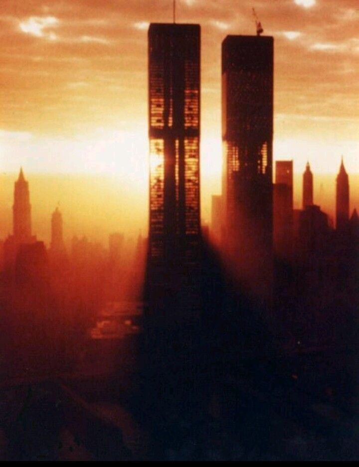 Twin Towers during construction