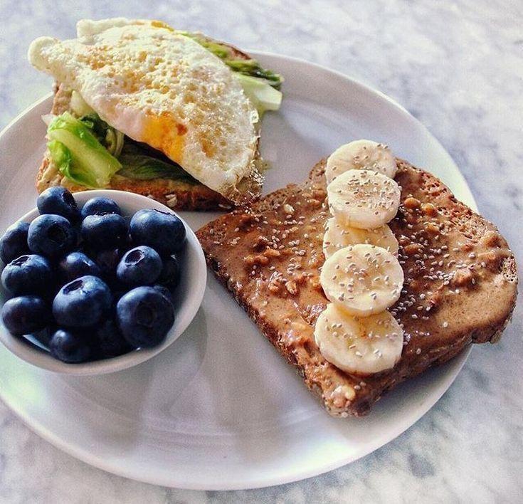 Fast Healthy Breakfast Ideas  Recipe for Busy Morning Health Breakfast  Frühstück