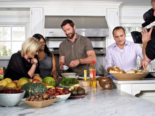 Kimchi Chronicles with Hugh Jackman and Marja Vongerichten (who is half-Korean), her husband chef Jean-Georges Vongerichten? Yes, please!